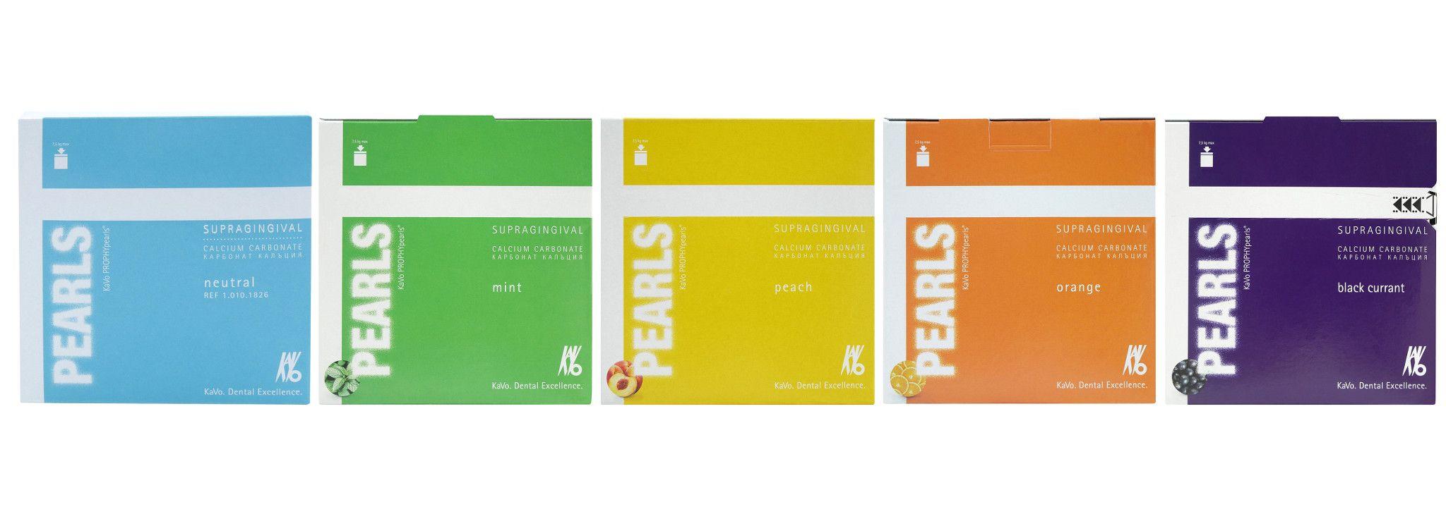 Colección de polvos para profilaxis Consumibles